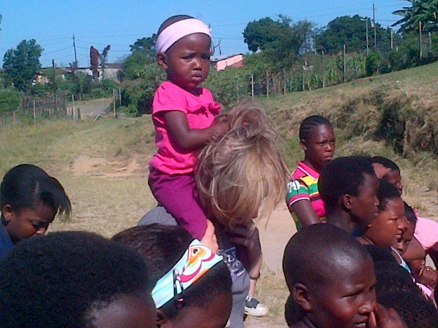 So this is at Saturday Kids club, with my cutest ever friend...who knows she's so cute she can get away with anything.