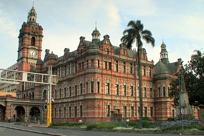 Our beautiful town hall... is actually  a symbol of colonial domination