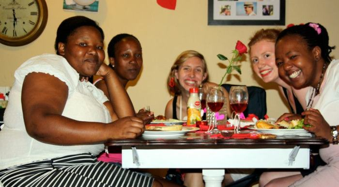 Nonjabs, Wendy, Me, Anna, Karabo (Sam and Gugu couldn't make it.)