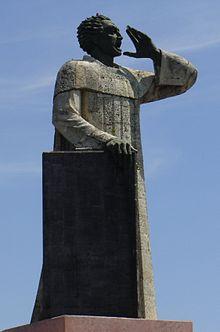 Sculpture of Antonio de Montesinos