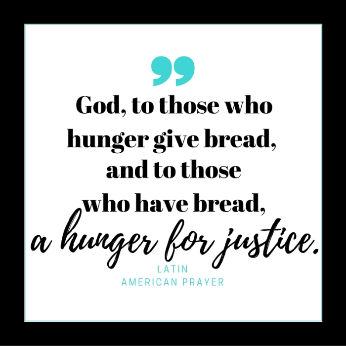 hunger for justice