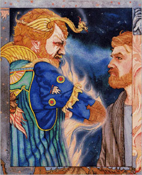 The Enchanter and the King have a face-off in book 2