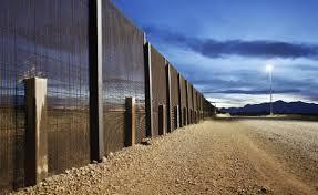 The Mexico Texas border
